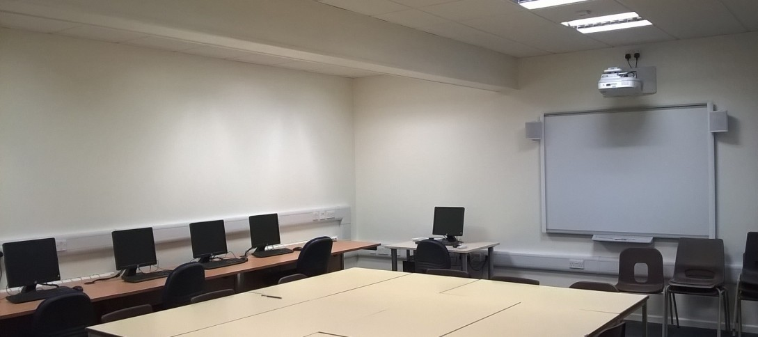 Conversion of engineering room to classrooms, Alton Collage