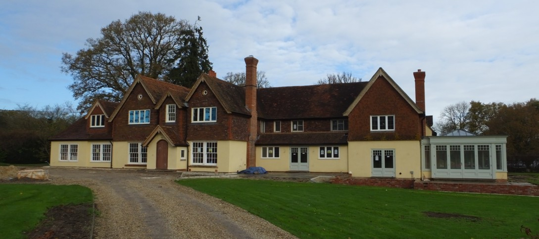 Hampshire farmhouse